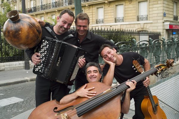 Le quartet de Renaud Garcia-Fons. Photo Jan Scheffner (droits réservés).
